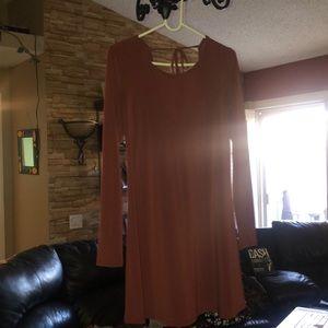 Flowey long dress